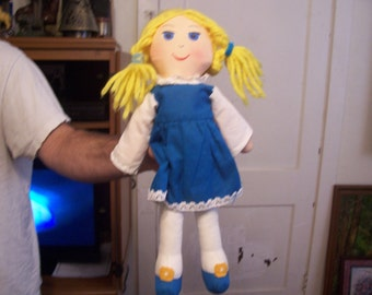 Vintage Swiss Miss Doll