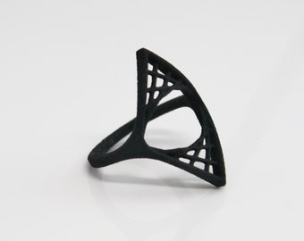 3D PRINTED Double Parabolic Suspension Ring