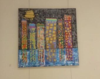 Big City abstract #8
