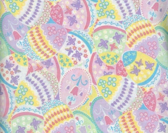Packed Eggs 100% coton fabric- sold by the yard