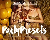 25 Party - Nightlife - Wedding - Lightroom Presets for Creative Photographers