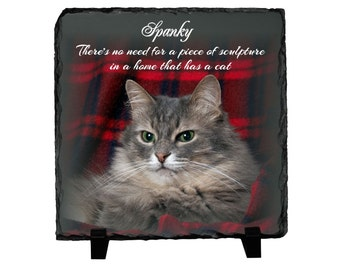 Cat lover gifts, Cat gifts, personalized pet gifts, kitten, custom pet art, Pet photo Gifts