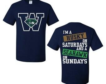 Husky on Saturday Seahawk on Sunday