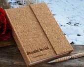 Custom Engraved Journal, Anniversary Gift, Birthday Gift Wife,