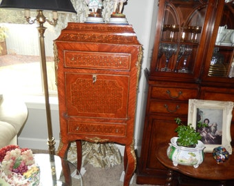 FRENCH MARQUETRY CABINET