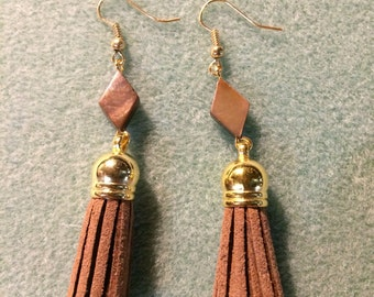 Fawn tassel earrings