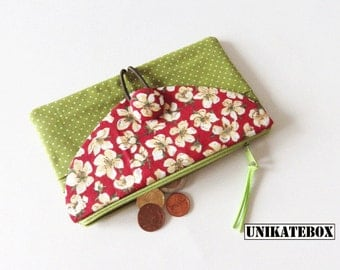 Coin purse wallet purse with card slots