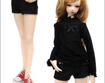 SD - Basic Hotpants (Black)