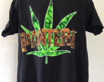 Vtg 1994 Pantera Far Beyond Driven World Tour Concert T-Shirt Black XL 90s Heavy Metal Hard Rock