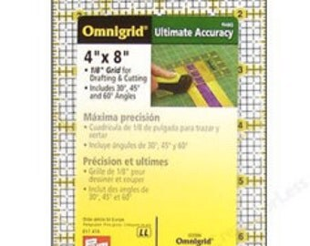 """4"""" x 8"""" quilting ruler"""