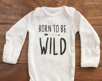 Born To Be Wild Bodysuit | Baby