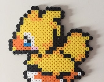 Final Fantasy Chocobo Perler Bead