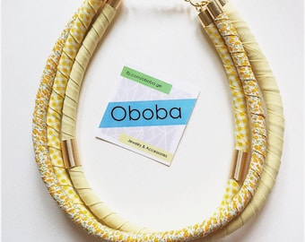 Sunny Oboba Cotton Necklace