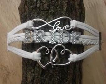 Bride Wedding Charm Bracelet