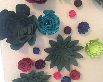Succulents Wall Flowers