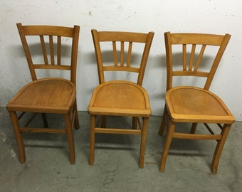 Trio of chairs Bistro 60s