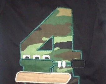 Tank Applique Shirts