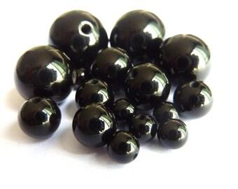 10 onyx beads Ø 12mm PCH0110 delicate gem semi precious stone