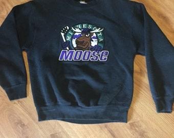 Vintage Minnesota moose sweatshirt size medium