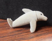 Vintage Dolphin Clip On Toy