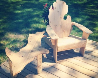 Michigan Upper Peninsula table, Michigan UP table, coffee table, patio furniture, #outdoor furniture, #wisconsin, #michigan, #coffee table