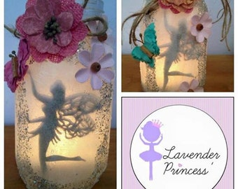 Fairies in jars