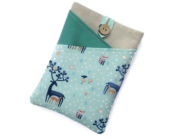 Kindle Fire Cover, Kindle Paperwhite Case, Kindle Cover, Kobo Case, Kindle Cover, Nook Case, Kindle Oasis Cover, Kindle Touch Case, Deer Fox