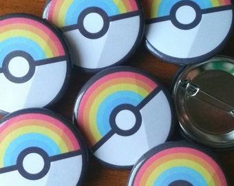 """Dreamy Color Capsule - 1.25"""" Round Button"""
