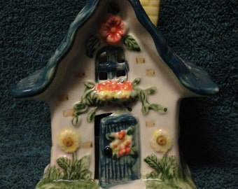 Colorful Hand Painted Ceramic Bird House