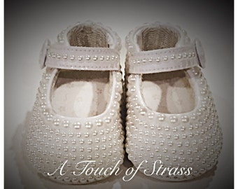 New Born Size 0 Infant Shoes Baptism Christening First Shoes