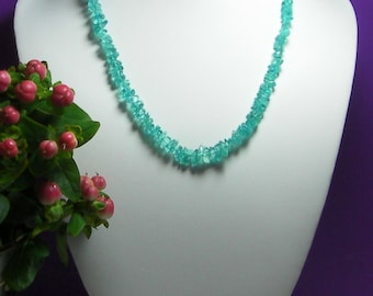 Apatite Necklace 17.5inch 120ct