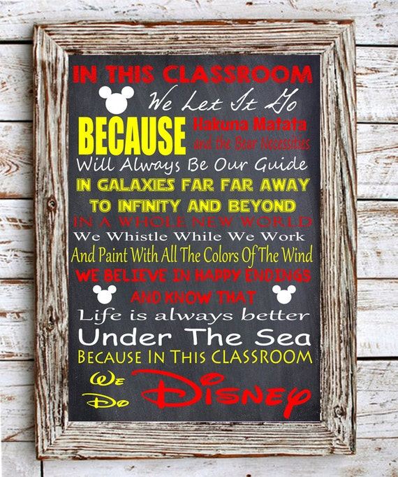 Image result for in this classroom disney