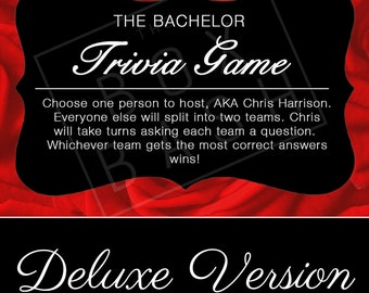 The Bachelor Trivia - Deluxe Version