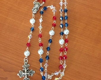 Red, White, Blue (American) Rosary
