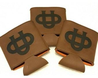 Ohio University Bobcats Leather Cozie