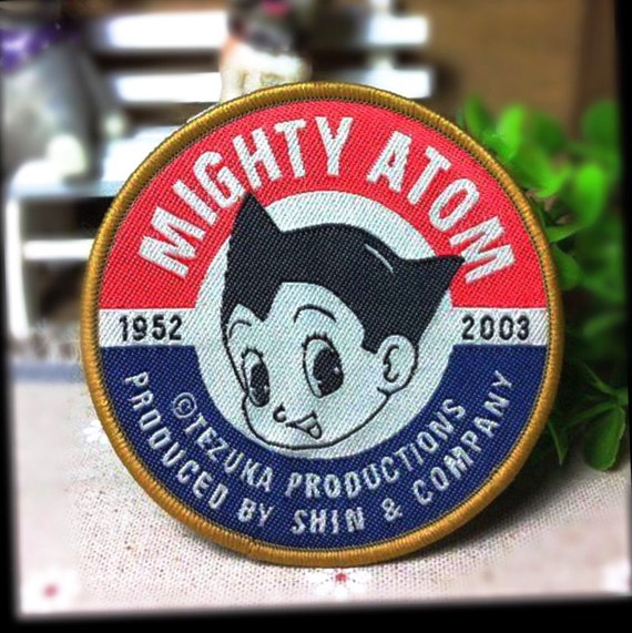 Mighty Atom Patch Astro Boy Patch Embroidered Patch By
