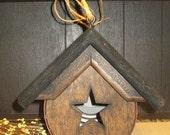 Rustic Can Birdhouse