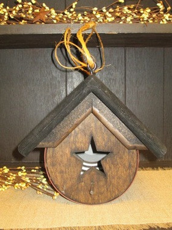 Rustic Can Birdhouse