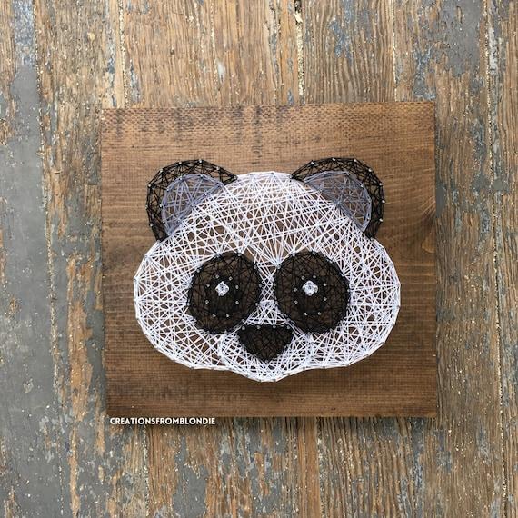 Panda String Art Sign Made To Order