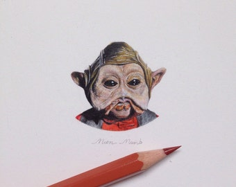 Miniature of Nien Nunb - Star Wars series