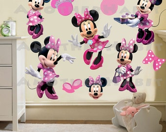 Minnie Mouse Wall Decal Room Decor
