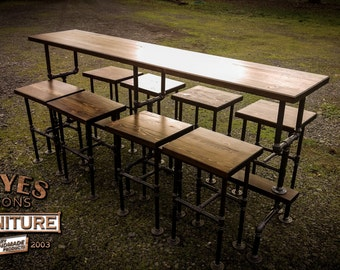 "96"" Bar Table Set"