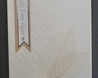 Cream Wedding Card 1457