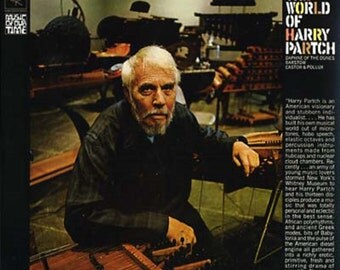 HARRY PARTCH The World Of Harry Partch Columbia Records Sealed 180 Gram Vinyl Reissue of the 1969 LP