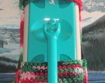 0396 Hand crochet swiffer mop cover