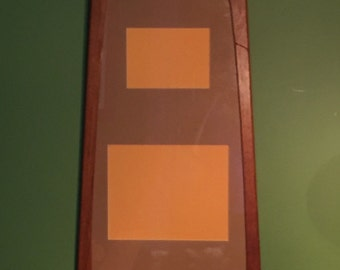 Mid Century Wall Hanging Picture Frame / Denish Modern Large Wooden Picture Frame / Oak Picture Display