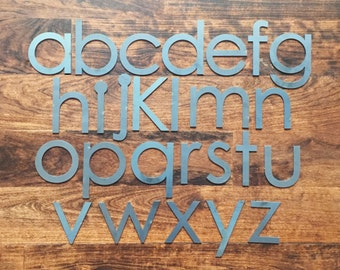 "Modern 4"" Lowercase 