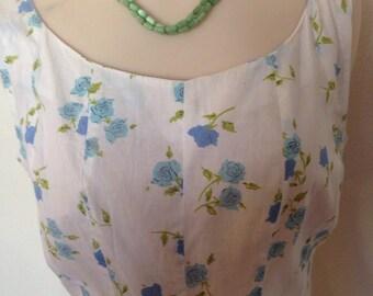 1950's Swing Summer Dress