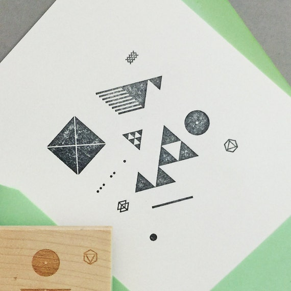 Modern Style - GRAPHIC Stamp