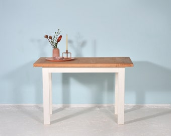 Kitchen table made of recycled lumber SIMON-DACH